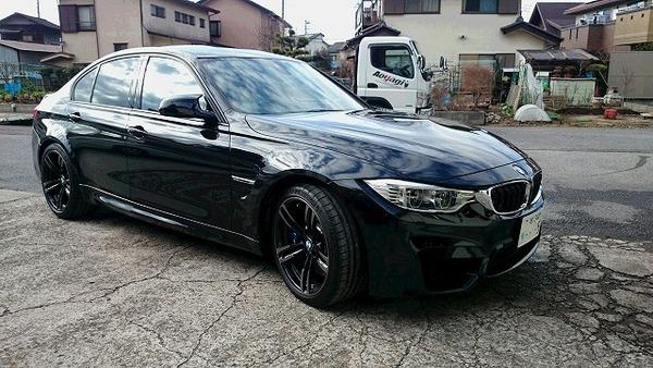 お久しぶりですわ!BMW M3