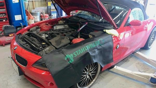 BMW Z4エンジン掛からず