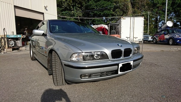 BMW E39 で~きた!
