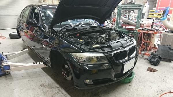 BMW 325(E90) 車検整備