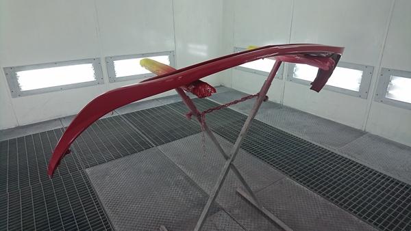 メルセデスベンツAクラス リップスポイラー塗装
