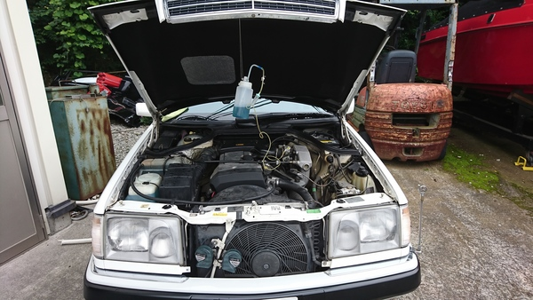 W124車検